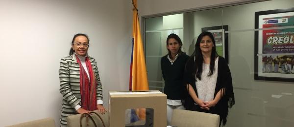 Inició la jornada electoral presidencial 2018 para la segunda vuelta en el Consulado de Colombia en Pretoria